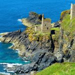 Ruins, Cornish coast